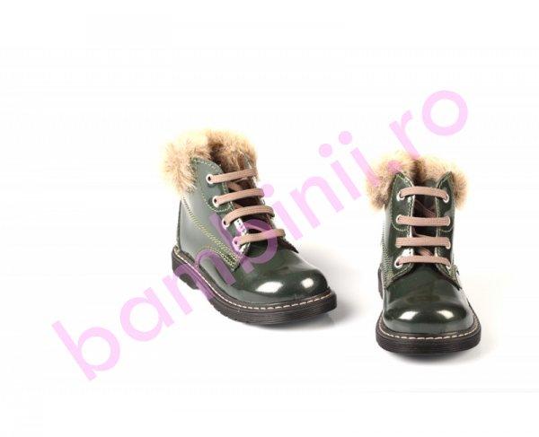 Ghetute copii pj shoes emy verde