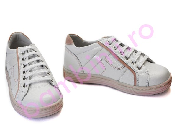 Pantofi copii hokide 288 alb