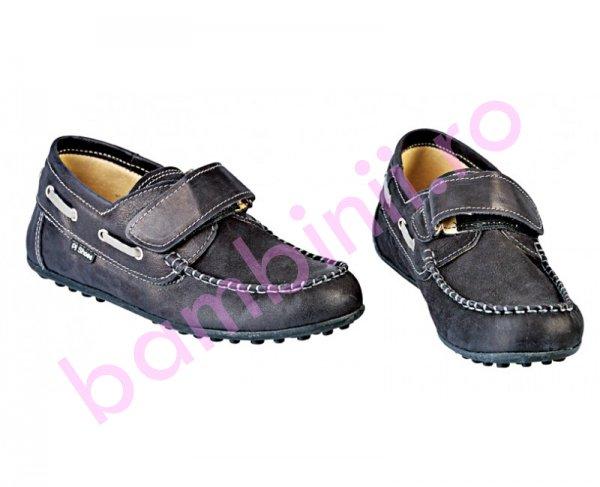 Pantofi baieti de scoala Jose negru new