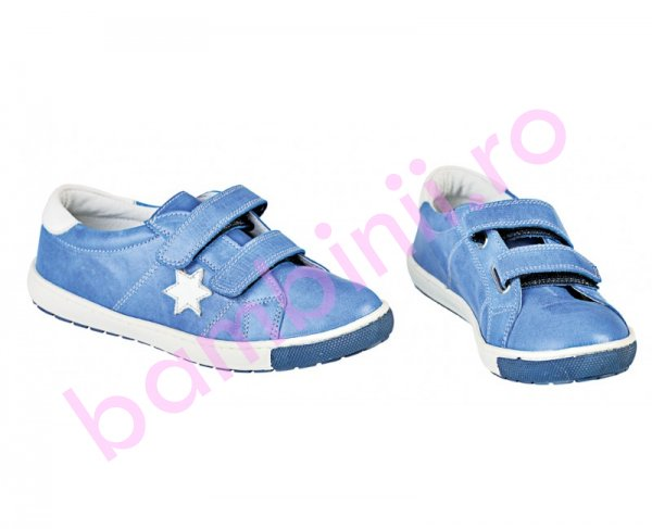 Pantofi copii sport Pj Shoes Skate blue