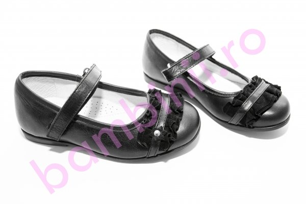 Pantofi piele copii hokide 277 negru