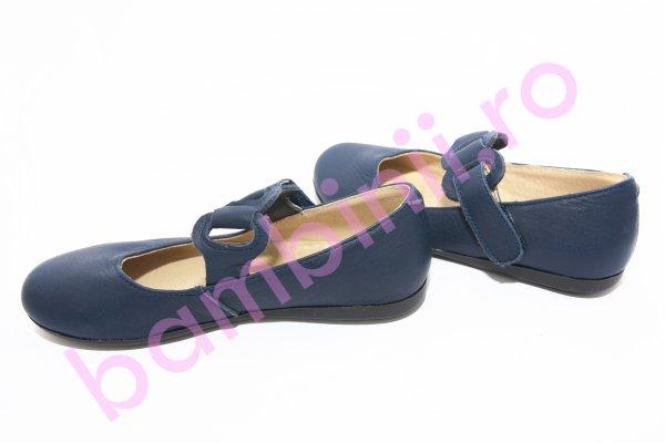 Pantofi balerini copii 639 blu 26-36