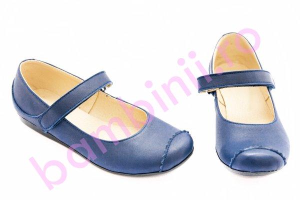 Pantofi balerini fete 721 albastru 26-36