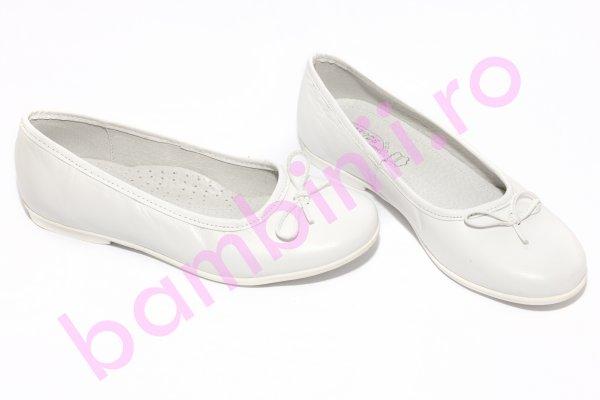 Pantofi balerini hokide 330 alb