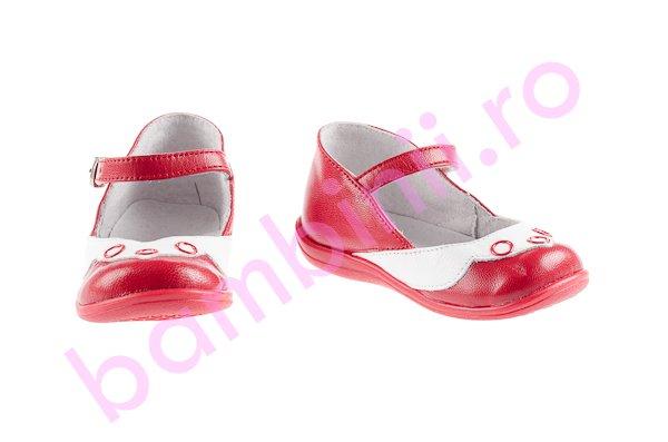 Pantofi copii 188 rosu alb