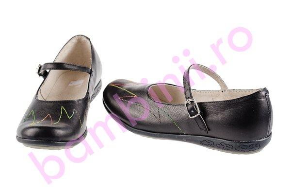Pantofi copii 635 negru+