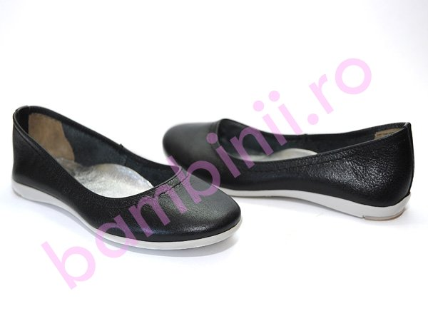 Pantofi piele copii avus negru