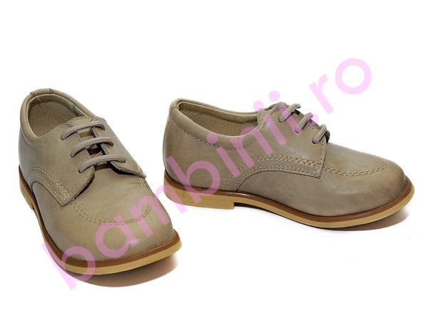 Pantofi copii pj shoes denis bej