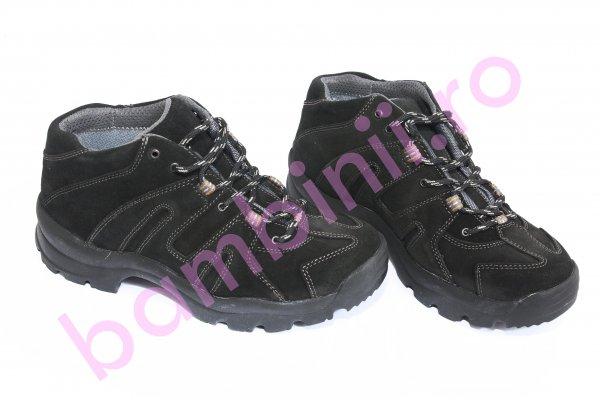 Pantofi barbati goretex Maks negru 36-47
