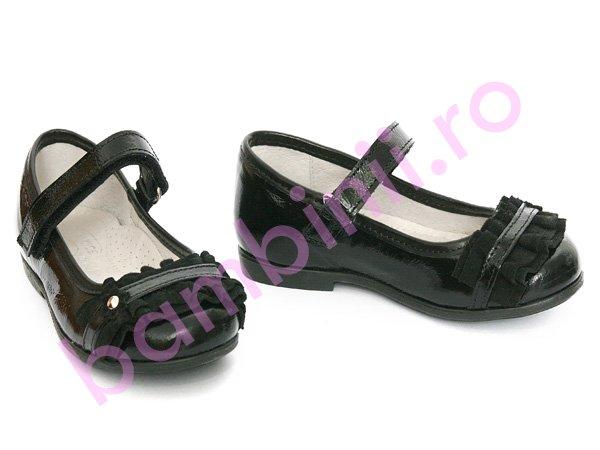 Pantofi copii hokide 277 negru lac