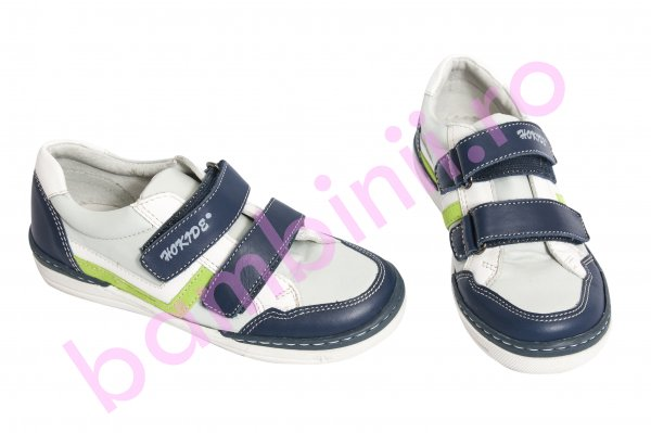Pantofi copii hokide 297 albastru alb