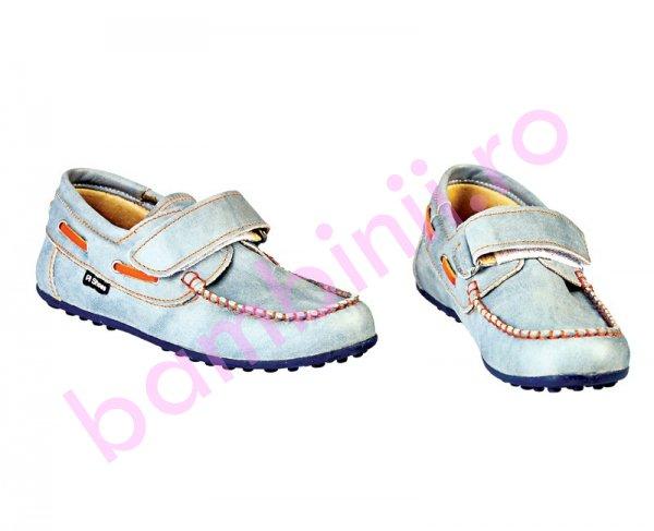 Pantofi copii Pj Shoes Jose blue new
