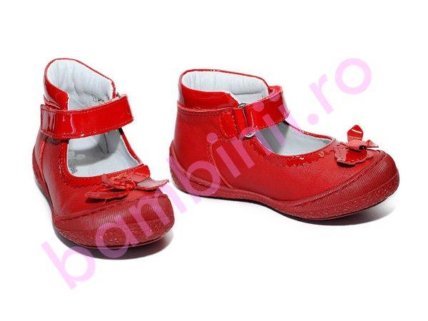 Pantofi copii Pj Shoes Paris rosu