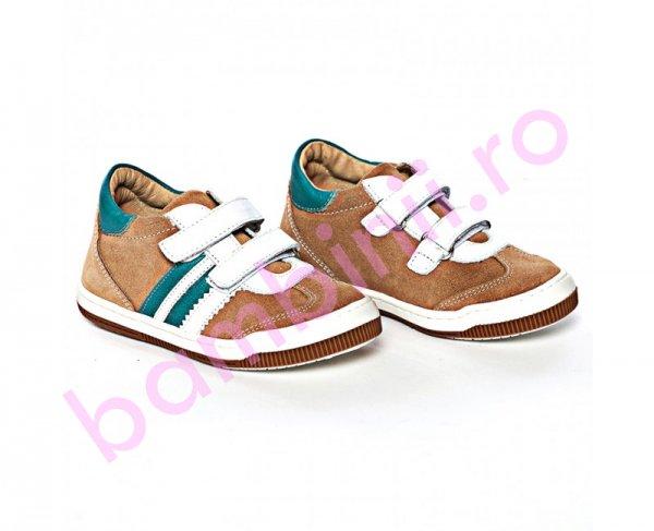 Pantofi copii sport Pj Shoes Costa bej 20-26