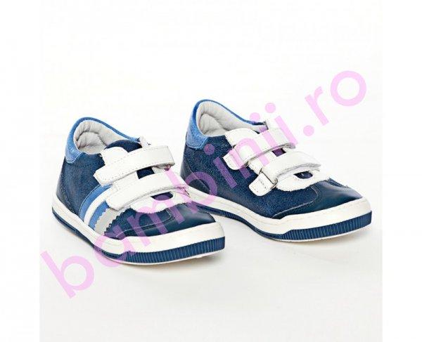 Pantofi copii sport Pj Shoes Costa blu 20-26