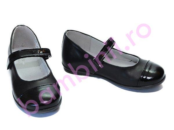Pantofi copii Pj Shoes Cherry negru