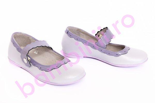 Pantofi fete pj shoes Lola mov 24-36