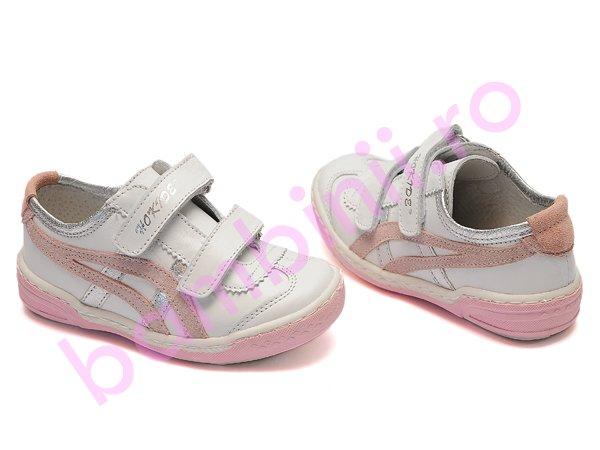 Pantofi copii hokide 226 alb roz new
