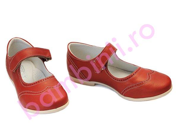 Pantofi fete hokide 420 rosu