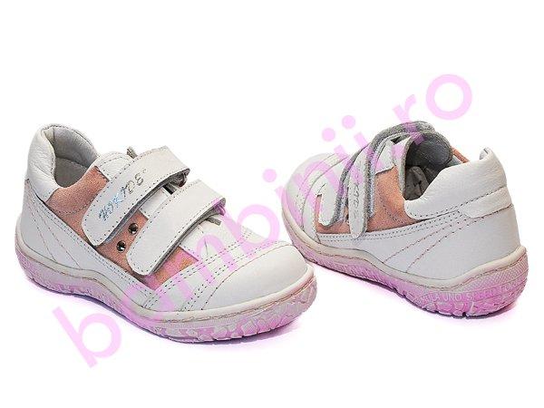 Pantofi fete hokide 315 alb roz new