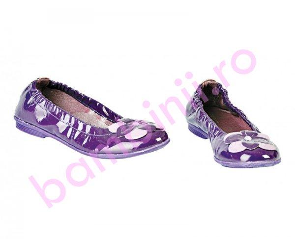 Pantofi fete Pj Shoes Lara mov