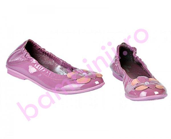 Pantofi fete Pj Shoes Lara lila