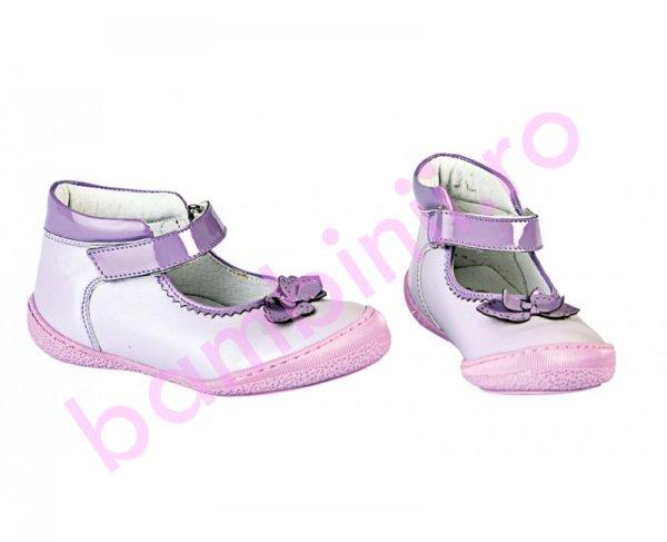 Pantofi fete Pj Shoes Paris mov