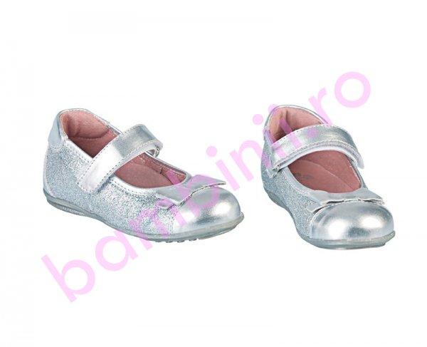 Pantofi fete Pj Shoes picco argintiu