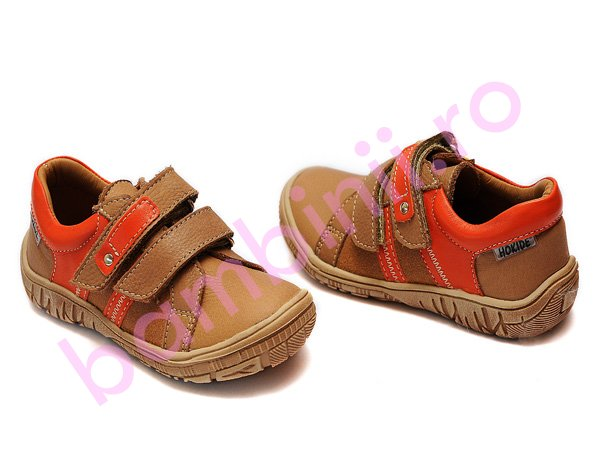 Pantofi hokide sport copii 315 maro-port