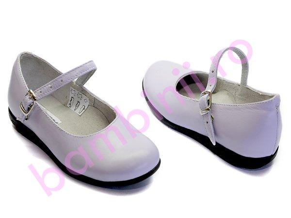 Pantofi piele copii 259 lila