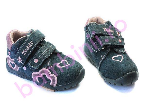 Pantofi sport teddy blu-roz