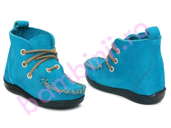 Mocasini copii 693 blu