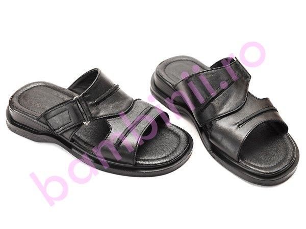 Papuci barbati 60 negru