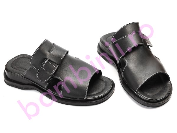 Papuci barbati 61 negru