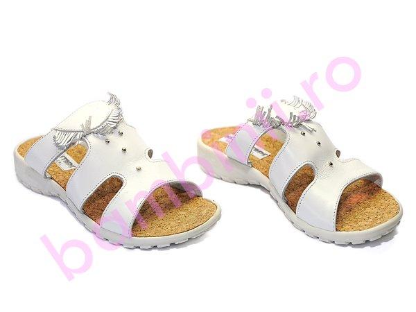 Papuci copii 70 alb
