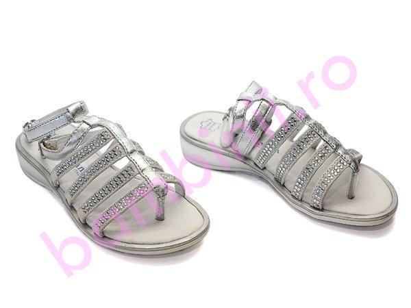 Sandale copii melania 59 argintii
