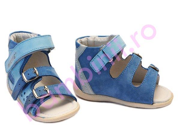 Sandale copii hokide 255 albastru