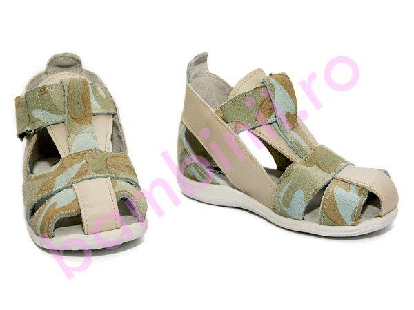 Sandale copii 552 kamuflaj