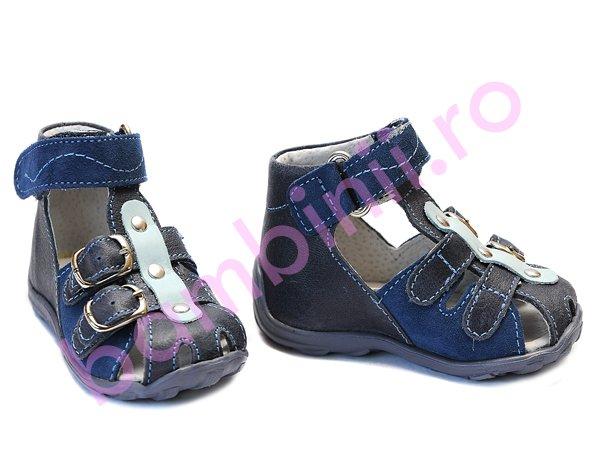 Sandale baieti hokide 172 albastru