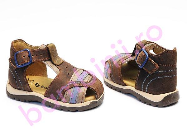 Sandale baieti bambulini maro