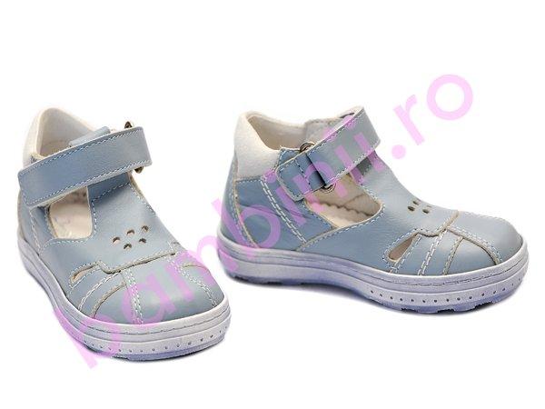 Sandale copii celeste blue