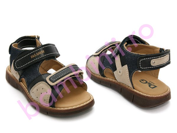 Sandale copii D&G junior blu