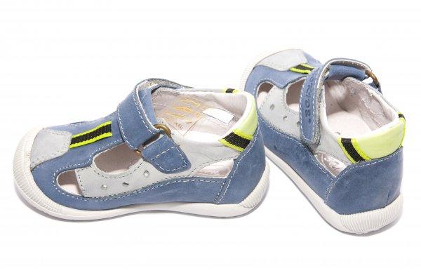 Sandale copii hokide 139 albastru gri 19-25