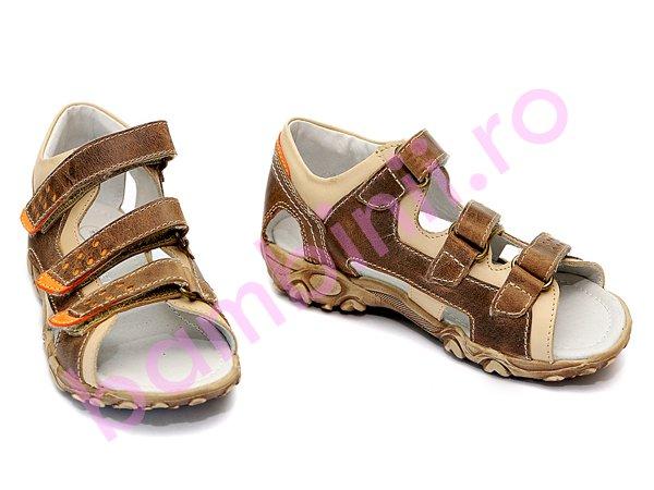 Sandale copii hokide 236 maro