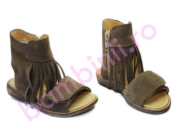 Sandale copii Pj Shoes Inna gri