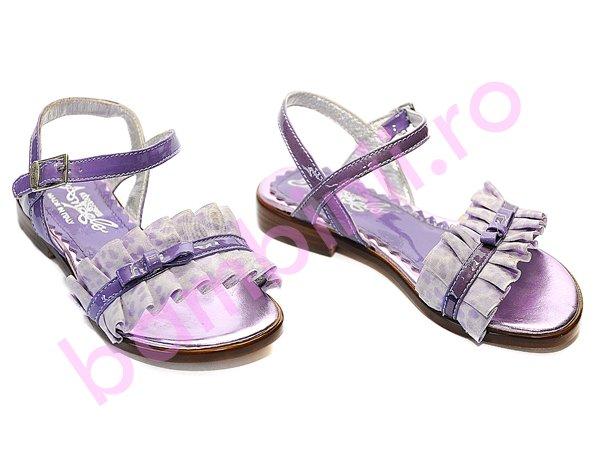 Sandale copii melania 58 mov-lila