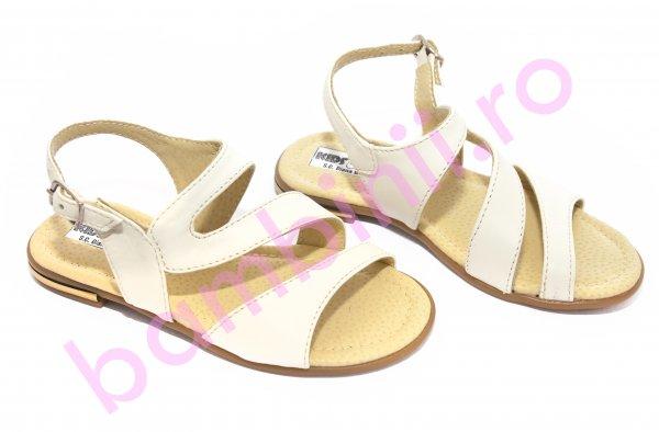 Sandale fete 1355 bej 26-36