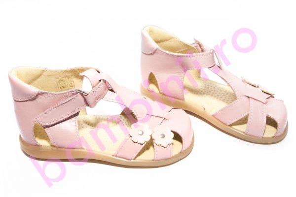 Sandale fete 346 roz pal