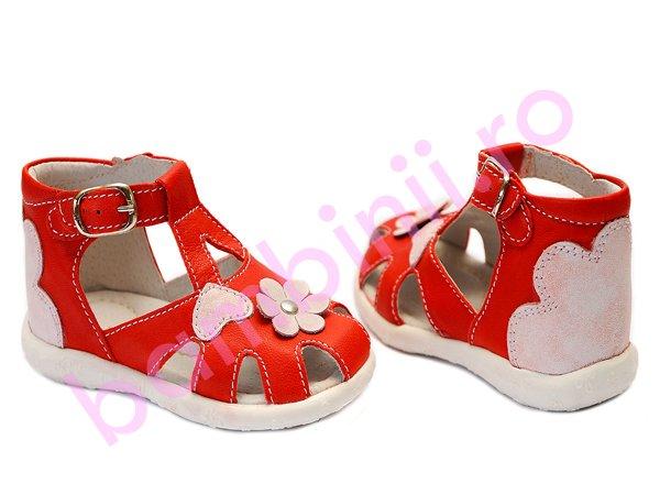 Sandale fete hokide 77 rosu 18-24