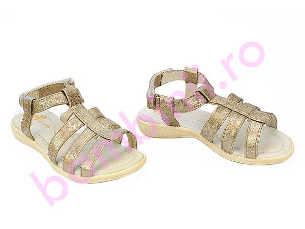 Sandale copii Pj Shoes Gladiator argintiu